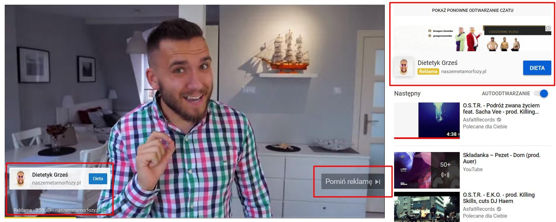 Reklama wideo - Przykład